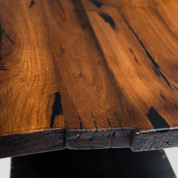 Beistell - & Couchtisch aus Holz / Stahl - Barrique Möbel
