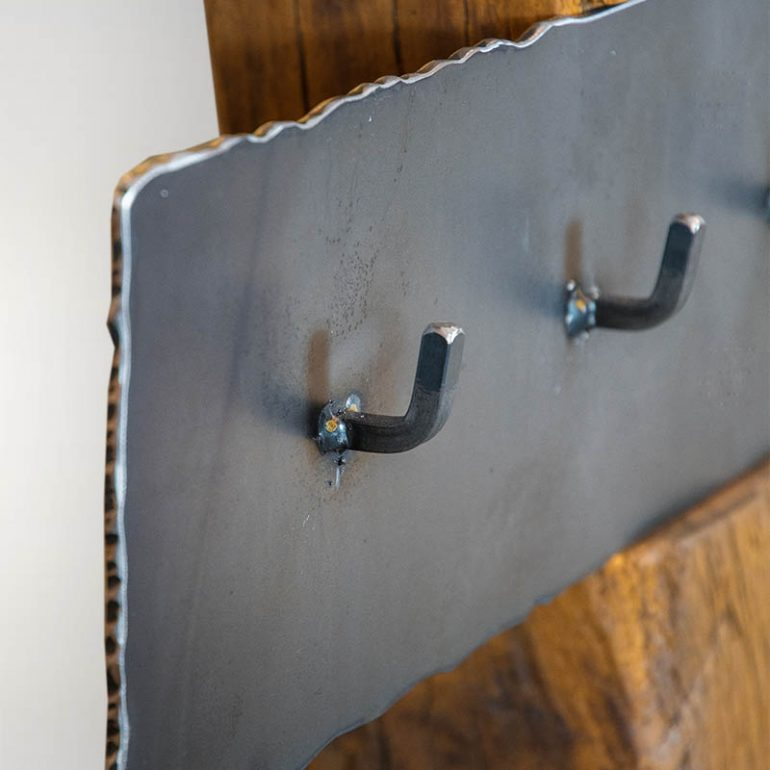 Garderobe Aus Altholz Eisen Barrique Mobel Barrique Mobel