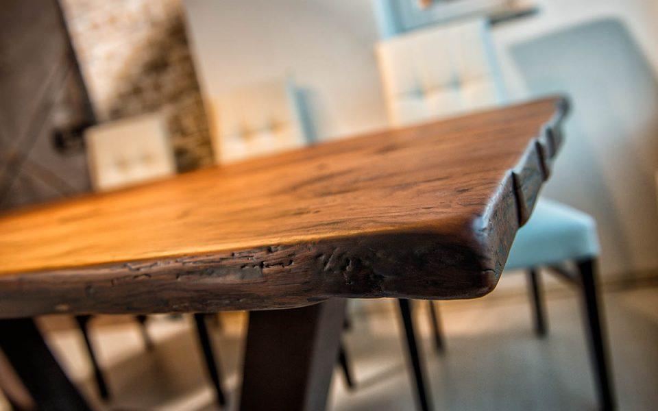 Barrique Möbel aus Österreich - Tischoberfläche