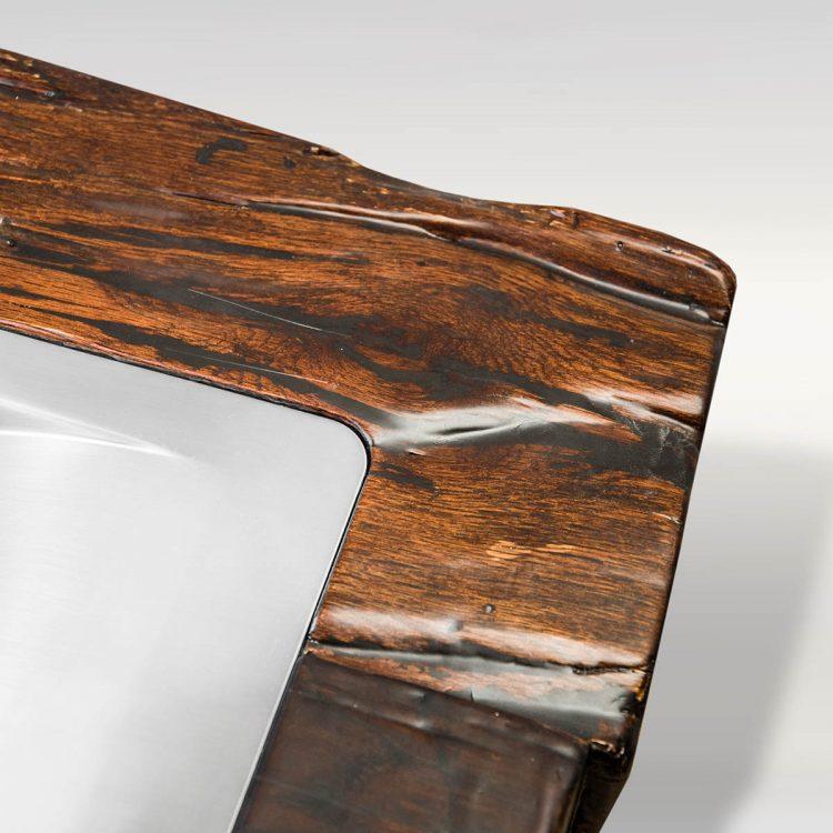 Waschtisch / Waschbecken aus Holz - Barrique Möbel