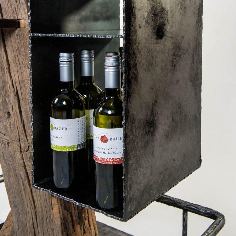Weinbar Shiraz - Barrique Weinmöbel aus Salzburg, Österreich