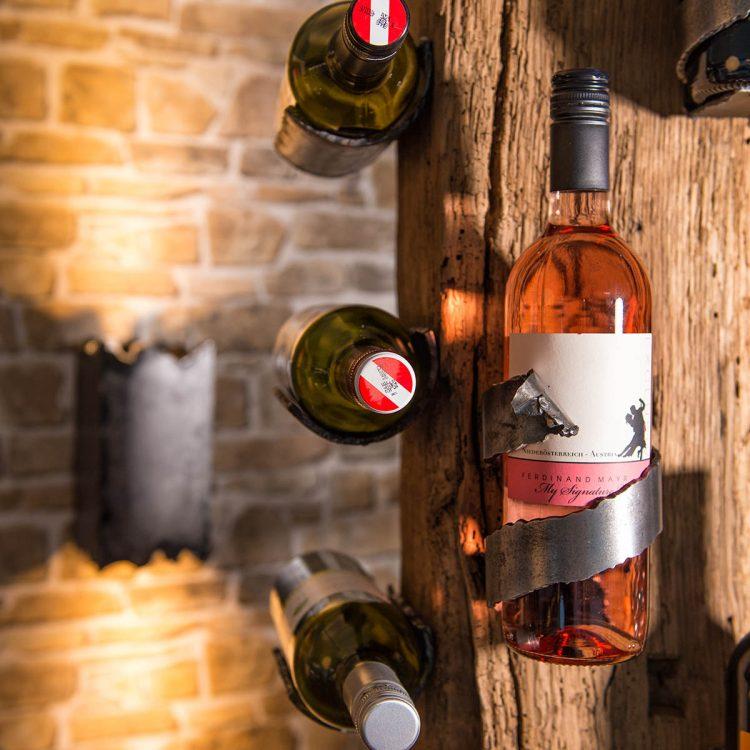 Weinbar / Weinregal Cuvee - Barrique Weinmöbel aus Österreich